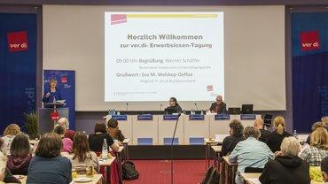 Tagung der ver.di-Erwerbslosen zu den geplanten SGB-II-Änderungen