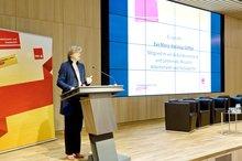 """Eva M. Welskop-Deffaa anl. der ver.di-Veranstaltung zum """"Tag der Selbstverwaltung"""" am 11.05.2016 in Berlin"""