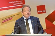 """Frank Bsirske anl. der ver.di-Veranstaltung zum """"Tag der Selbstverwaltung"""" am 11.05.2016 in Berlin"""