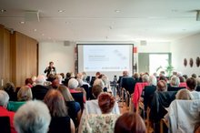 Teilnehmerinnen und Teilnehmer anl. der 10. Frauen-Alterssicherungskonferenz am 28.8.2014