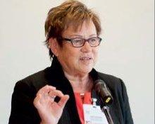 Edda Schliepack anl. der 10. Frauen-Alterssicherungskonferenz am 28.8.2014