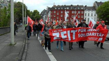 1.-Mai-Demo 2016 in Bonn