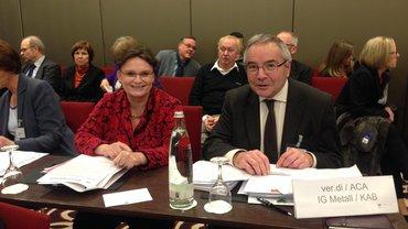 Günter Ploß, ver.di-Selbstverwalter in der Gesetzlichen Rentenversicherung