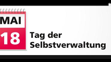 """Logo zum """"Tag der Selbstverwaltung"""" jährlich am 18. Mai bis zu den Sozialwahlen 2017"""