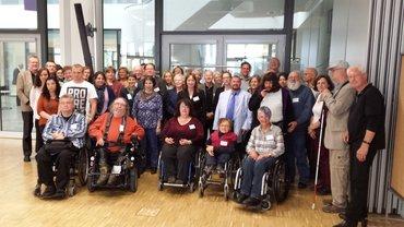 Gruppenfoto Teilnehmerinnen und Teilnehmer BRK-Allianz