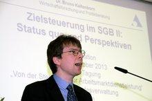 Dr. Bruno Kaltenborn anlässlich der arbeitsmarktpolitischen Fachtagung der ver.di am 25.10.2013