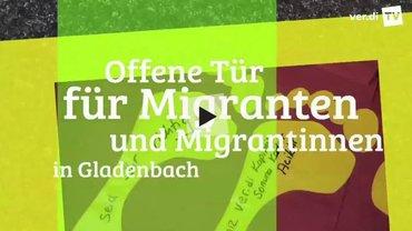 """Titelbild zum Video """"Offene Tür für Migrantinnen und Migranten in Gladenbach"""""""