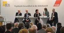 """DGB/BDA-Veranstaltung """"Psychische Gesundheit in der Arbeitswelt"""" am 19.3.2014 in Berlin"""