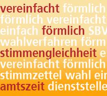 SBV-Wahlen 2014: Wahlverfahren