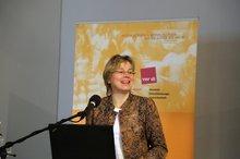 Eva Welskop-Deffaa (ver.di-Bundesvorstand) anl. der ver.di-Teilhabe-Fachkonferenz am 04.11.2015