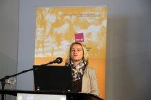 """Verena Bentele anl. der ver.di-Fachkonferenz """"Teilhabe junger Menschen mit Behinderung an der beruflichen Ausbildung – Wie kann Inklusion gelingen?"""" am 4.11.2015"""