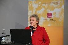 """Lucie Pötter-Brandt anl. der ver.di-Fachkonferenz """"Teilhabe junger Menschen mit Behinderung an der beruflichen Ausbildung – Wie kann Inklusion gelingen?"""" am 4.11.2015"""