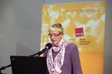 """Anja van de Kraan anl. der ver.di-Fachkonferenz """"Teilhabe junger Menschen mit Behinderung an der beruflichen Ausbildung – Wie kann Inklusion gelingen?"""" am 4.11.2015"""
