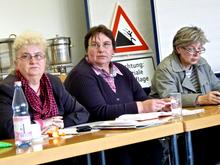 Mitglieder des Bundeserwerbslosenausschusses von ver.di
