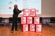 Eva Welskop-Deffaa, 12. Frauenalterssicherungskonferenz 06.09. in Berlin.