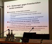 """Fachtagung """"Exclusive Teilhabe - ungenutzte Chancen"""" (Dritter Bericht zur sozioökonomischen Entwicklung in Deutschland) am 17.10.2016"""