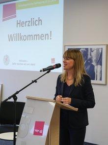 Silke Hoock anl. der Teilhabepolitischen Fachtagung der ver.di am 16.11.2016
