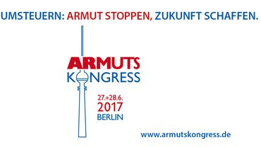 Logo zum Armutskongress am 27./28. Juni 2017 in Berlin