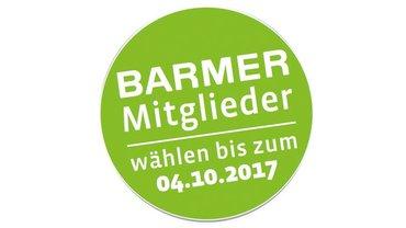 Logo der BARMER zur Sozialwahl 2017