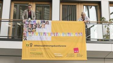 13. Frauen-Alterssicherungskonferenz der ver.di am 05.09.2017 in Berlin