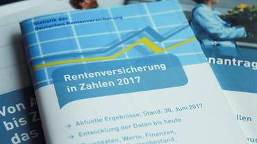 Rentenversicherung in Zahlen (Broschüre der Deutschen Rentenversicherung)
