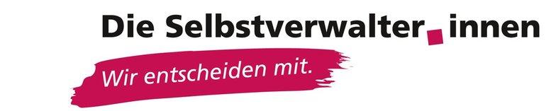 """Logo """"Selbstverwalter_innen - Wir entscheiden mit!"""""""