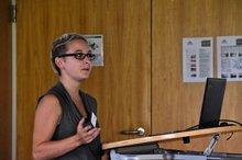 Tanja Gäbelein als Referentin anl. der Jahrestagung der Gelben Hand