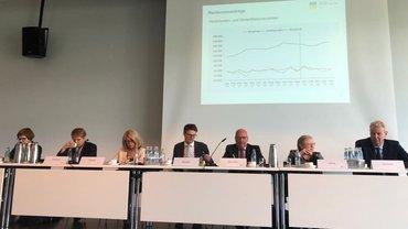 Sitzungsleitung DRV-Vertreterversammlung Juni 2018 in Koblenz