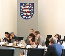 Tagungsleitung anl. Anhörung zur Enquete-Kommission im Thüringer Landtag am 14.8.2018