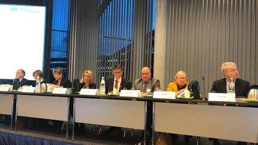 Präsidium der Vertreterversammlung der DRV Bund anl. ihrer Sitzung am 05.12.2018