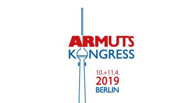 Logo zum Armutskongress am 10./11.04.2019 in Berlin