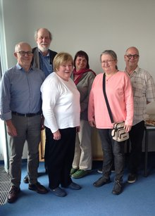 Mitglieder des Vorstandes des ver.di-Bundeserwerbslosenausschusses (BEA), die am 09.04.2019 anl. der 5. Bundeserwerbslosenkonferenz gewählt wurden