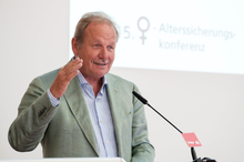 Frank Bsirske anl. der 15. Frauen-Alterssicherungskonferenz am 28.8.2019 in Berlin