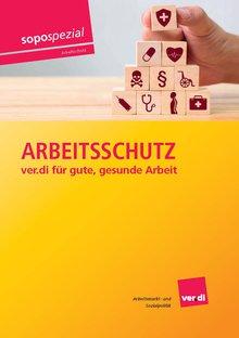 """Broschüre """"Arbeitsschutz - ver.di für gute, gesunde Arbeit"""""""