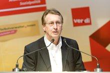 "Dr. Horst Riesenberg-Mordeja (ver.di) anl. der  ver.di-Veranstaltung zum ""Tag der Selbstverwaltung"" am 11.05.2016 in Berlin"