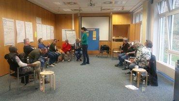 """Seminar """"Professionell und Spaß dabei"""" für neue und alte Aktive, die sich für die ver.di Migrationsarbeit fit machen"""