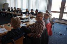 Teilnehmer*innen der Frühjahrstagung des Bundesarbeitskreises Behindertenpolitik im Februar 2020