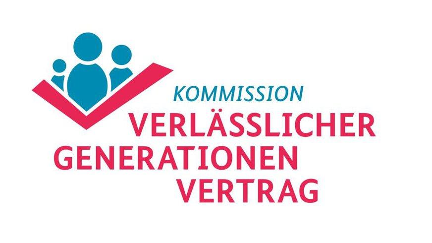 Logo der Kommission Verlässlicher Generationenvertrag (sog. Rentenkommission)