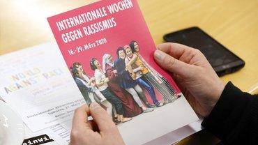 Flyer zu den Wochen gegen Rassismus