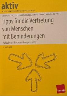 """ver.di-Ausgabe des Ratgebers """"Tipps für die Vertretung von Menschen mit Behinderungen"""" (3. Auflage)"""