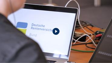 Startbild der Aufzeichnung der Vertreterversammlung der DRV Bund am 24.6.2020