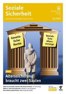 Cover der Zeitschrift Soziale Sicherheit, Ausgabe 12-2020