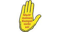 Logo Gelbe Hand - Mach meinen Kumpel nicht an