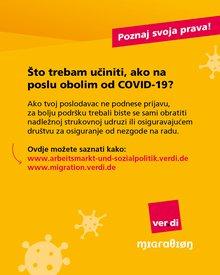 Corona - Kenne deine Rechte! (bosnisch)