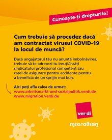 Corona - Kenne deine Rechte! (rumänisch)