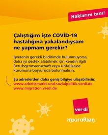 Corona - Kenne deine Rechte! (türkisch)