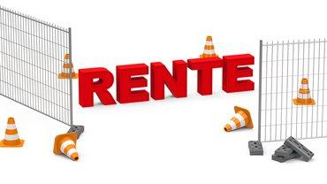 Baustelle Rente